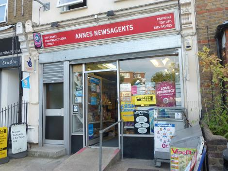 Anne's Newagents in Wanstead