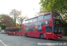 Buses in Wanstead