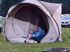 Camping In Wanstead