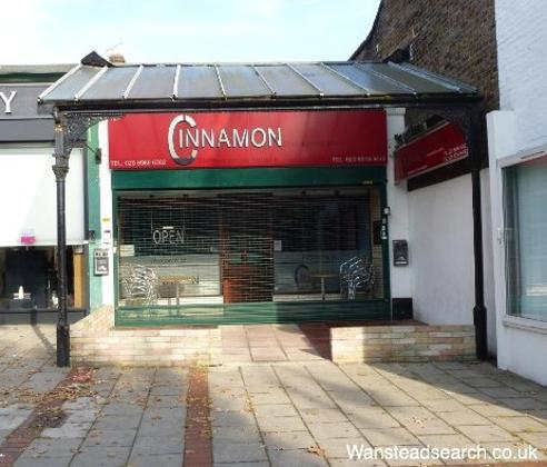 Cinnamon Restaurant in Wanstead