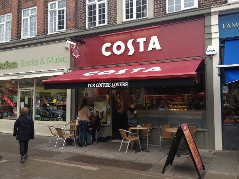 Costa Coffee in Wanstead