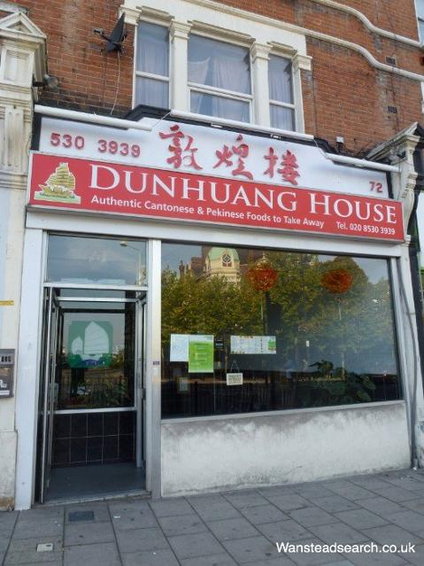 Dunhuang House Chinese takeaway in Wanstead