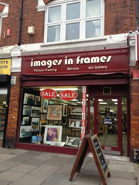 Images in Frames in Wanstead