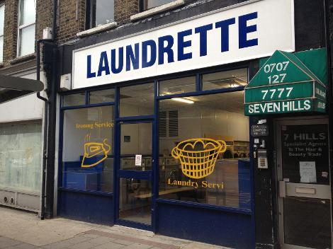 Launderette in Wanstead