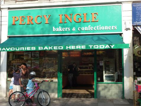 Percy Ingle in Wanstead