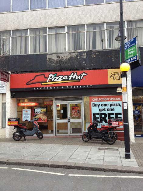 Pizza Hut Delivery South Woodford