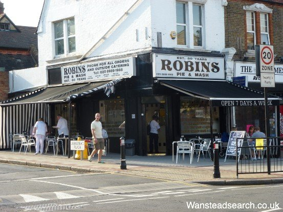 Robins Pie and Mash Wanstead
