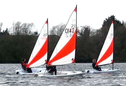 Sailing in Wanstead