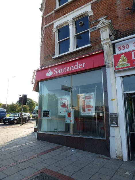 Santandar in Wanstead
