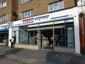 Tesco Express in Wanstead