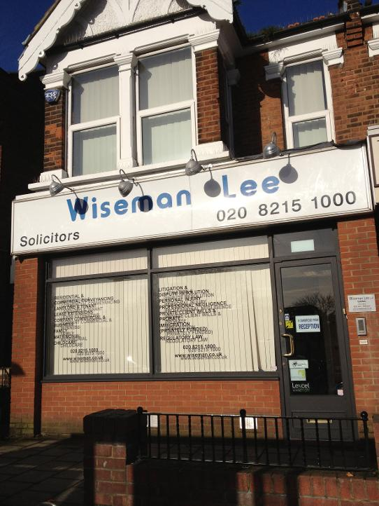 Wiseman Lee in Wanstead